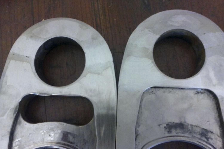 Reparación de piezas metálicas